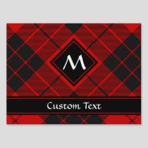 Clan Macleod of Raasay Tartan Sign