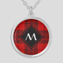 Clan Macleod of Raasay Tartan Silver Plated Necklace