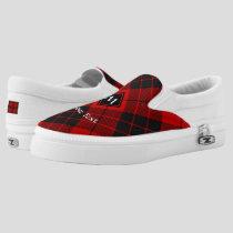 Clan Macleod of Raasay Tartan Slip-On Sneakers