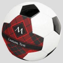 Clan Macleod of Raasay Tartan Soccer Ball
