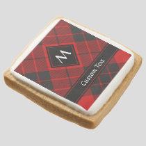 Clan Macleod of Raasay Tartan Square Shortbread Cookie