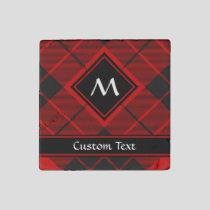 Clan Macleod of Raasay Tartan Stone Magnet