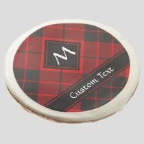 Clan Macleod of Raasay Tartan Sugar Cookie