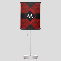 Clan Macleod of Raasay Tartan Table Lamp