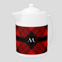 Clan Macleod of Raasay Tartan Teapot