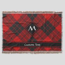 Clan Macleod of Raasay Tartan Throw Blanket