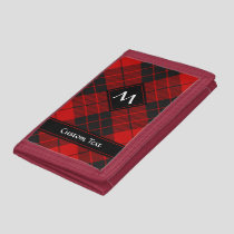 Clan Macleod of Raasay Tartan Trifold Wallet