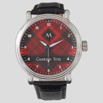Clan Macleod of Raasay Tartan Watch