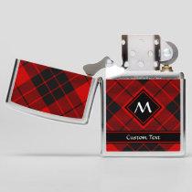 Clan Macleod of Raasay Tartan Zippo Lighter