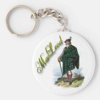Clan MacLeod Scottish Dream Keychain