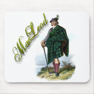 Clan MacLeod Scottish Dream Pad Mouse Pad