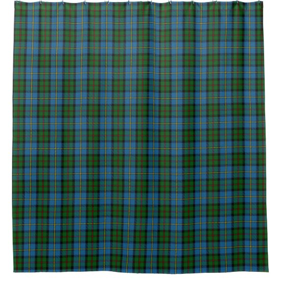 Clan MacLeod Scottish Heritage Tartan Shower Curtain
