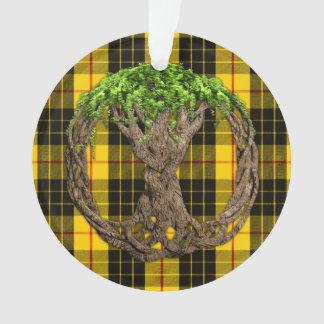 Clan MacLeod Tartan And Celtic Tree Of Life