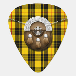 Clan MacLeod Tartan And Sporran Guitar Pick