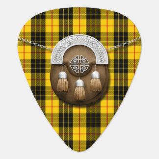 Clan MacLeod Tartan And Sporran Guitar Pick