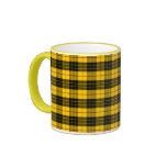 Clan MacLeod Tartan Ringer Mug