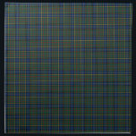"""Clan MacMillan Blue and Green Scottish Tartan Napkin<br><div class=""""desc"""">Cloth napkins with a blue,  green,  yellow,  red,  and black Scottish tartan. Traditional Clan MacMillan modern hunting plaid pattern from the 1890s. Choose from two sizes. Matching table runner available.</div>"""