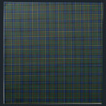 "Clan MacMillan Blue and Green Scottish Tartan Napkin<br><div class=""desc"">Cloth napkins with a blue,  green,  yellow,  red,  and black Scottish tartan. Traditional Clan MacMillan modern hunting plaid pattern from the 1890s. Choose from two sizes. Matching table runner available.</div>"