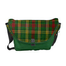 Clan MacMillan Tartan Plaid Messenger Bag