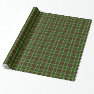 Clan MacMillan Tartan Plaid Wrapping Paper