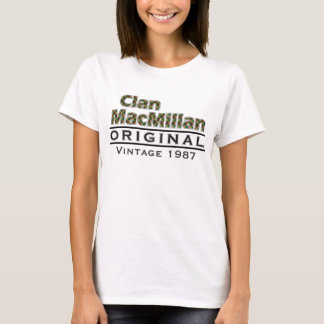 Clan MacMillan Vintage Customize Your Birthyear T-Shirt
