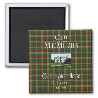 Clan MacMillan's Old Finlaystone House Coffee Co. Magnet