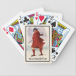 """Clan MacNaughton Classic Scotland Bicycle Deck Bicycle Playing Cards<br><div class=""""desc"""">Celebrate the great Scottish Clan MacNaughton with this handsome Bicycle Brand deck design. Based on the paintings of noted Scottish painter R. R. McIan from his illustrations of the Clans of Scotland as published in 1847.</div>"""
