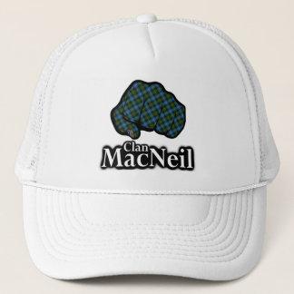 Clan MacNeil Scotland Proud Tartan Fist Trucker Hat