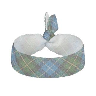 Clan MacNeil Scottish Accents Blue Green Tartan Hair Tie