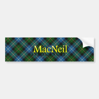 Clan MacNeil Scottish Bumper Sticker