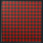 """Clan MacPhee Bright Red and Green Scottish Tartan Napkin<br><div class=""""desc"""">Cloth napkins with a bright red,  forest green,  yellow gold and white Scottish tartan. Traditional Clan MacPhee family plaid pattern from 1880. Choose from dinner or cocktail napkins. Matching tablecloth and table runner available.</div>"""