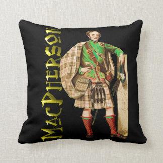 Clan MacPherson Highland Dream Throw Pillow
