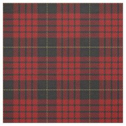 Clan MacQueen Scottish Tartan Plaid Fabric