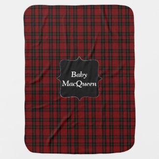 Clan MacQueen Tartan Plaid Baby Blanket