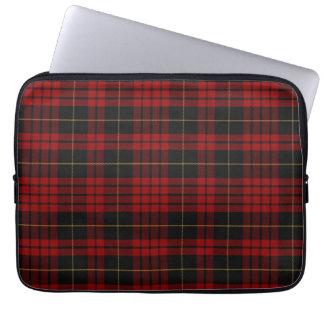 Clan MacQueen Tartan Plaid Laptop Cover