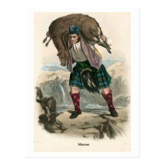 Clan Macrae Postcard