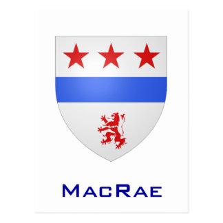 Clan MacRae Shield Postcard
