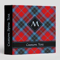 Clan MacTavish Tartan 3 Ring Binder