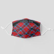 Clan MacTavish Tartan Adult Cloth Face Mask