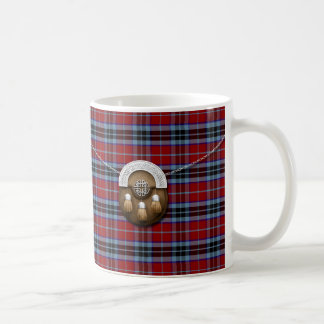 Clan MacTavish Tartan And Sporran Coffee Mug
