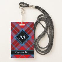 Clan MacTavish Tartan Badge