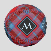 Clan MacTavish Tartan Baseball