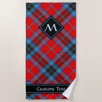 Clan MacTavish Tartan Beach Towel