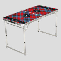Clan MacTavish Tartan Beer Pong Table