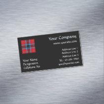 Clan MacTavish Tartan Business Card Magnet