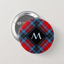Clan MacTavish Tartan Button