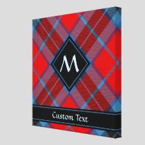 Clan MacTavish Tartan Canvas Print