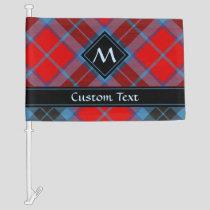 Clan MacTavish Tartan Car Flag