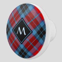 Clan MacTavish Tartan Ceramic Knob