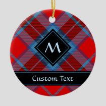 Clan MacTavish Tartan Ceramic Ornament